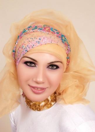 لفات الحجاب بالصور (1)