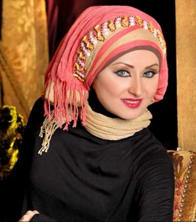 لفات حجاب جديدة وجميلة (2)