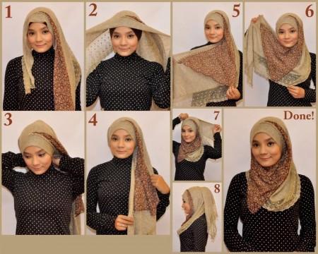 لفات حجاب جديدة وجميلة (3)