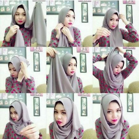 لفات حجاب جديدة وجميلة (5)