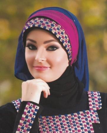 لفات حجاب جديدة وجميلة (6)