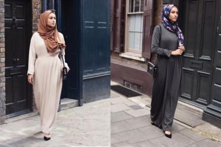 احدث تصميمات ازياء وملابس المحجبات لصيف 2016 (4)