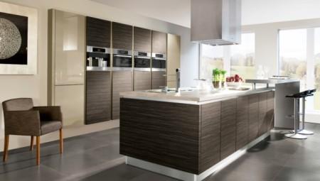اشكال وتصميمات ديكور المطبخ  (1)