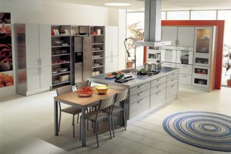 اشكال وتصميمات ديكور المطبخ  (3)