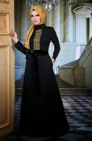 الوان جديدة لموضة ملابس المحجبات2016 (2)