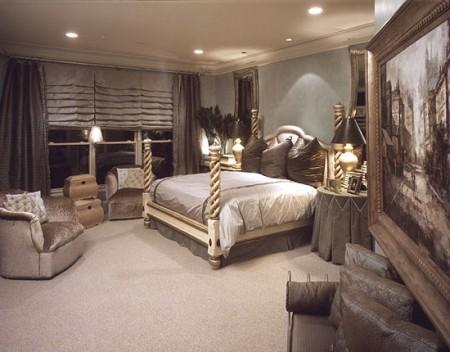 الوان غرف نوم باحدث دهانات حوائط غرف العرسان (1)
