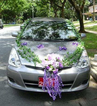 بالصور تزيين سيارات الاعراس  (4)