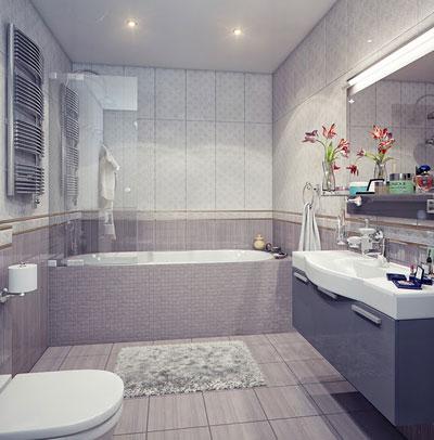 ديكور حمامات صغيرة (1)