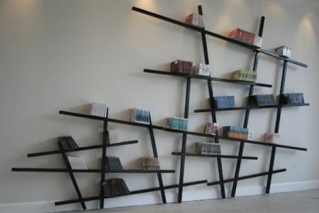 رفوف خشبية للحائط  (1)