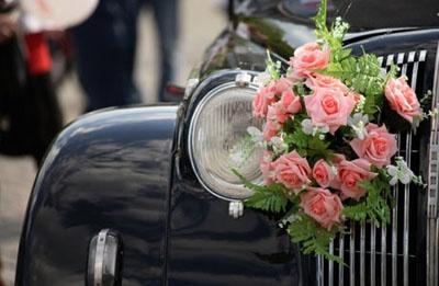 زينة سيارات الزفاف  (3)