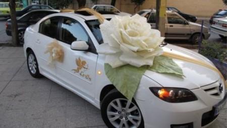 زينة سيارات الزفاف  (4)