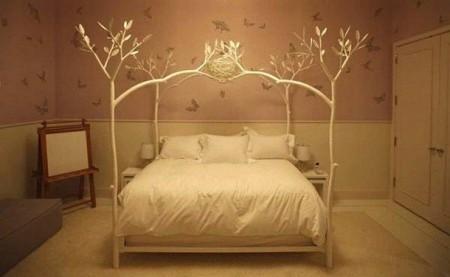 غرف نوم بالوان فخمة شيك جديدة مودرن (1)