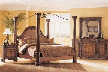 غرف نوم بالوان فخمة شيك جديدة مودرن (3)