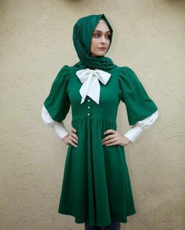 كتالوج صور موضة ملابس البنات المحجبات للصيف2016 (5)