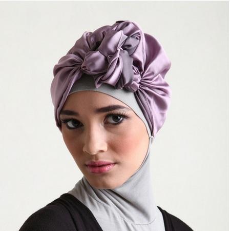 لف الحجاب بالصور (1)