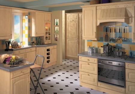 مطبخ ديكور 2016 فخم جديد حديث (2)