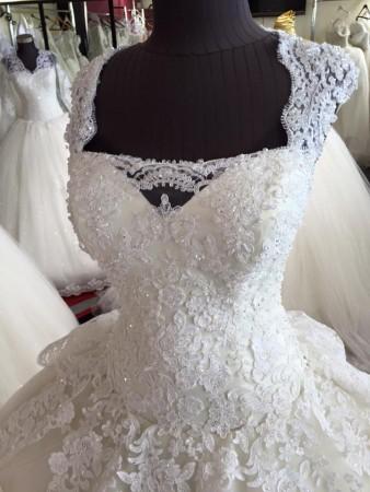 احدث موديلات فساتين الزفاف2016 (1)