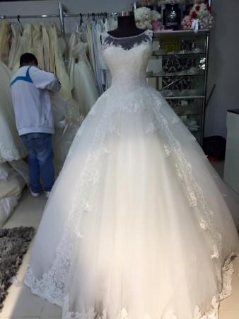 احدث موديلات فساتين الزفاف2016 (3)