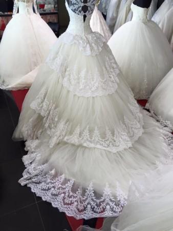احدث موديلات فساتين الزفاف2016 (4)