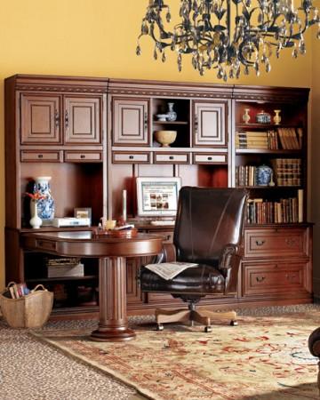 اشكال مكتبات منزلية جديدة مودرن (4)