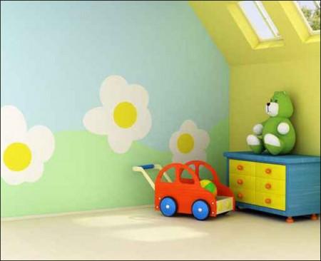 الوان غرف نوم اطفال2016 (3)
