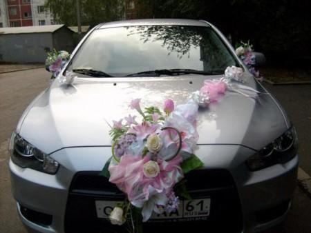 تزيين السيارات بالورود (1)