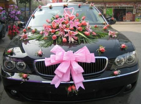 تزيين سيارات افراح للعريس والعروسة (2)