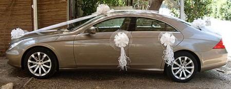 تزيين سيارات الزفاف اشكال تزيين سيارات العريس في الفرح (5)