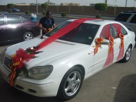 تزيين سيارات الزفاف  (2)
