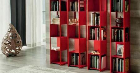 تصميمات مكتبات كتب في المنزل باشكال مختلفة (3)