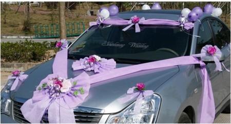 صور تزيين سيارات للعريس (1)