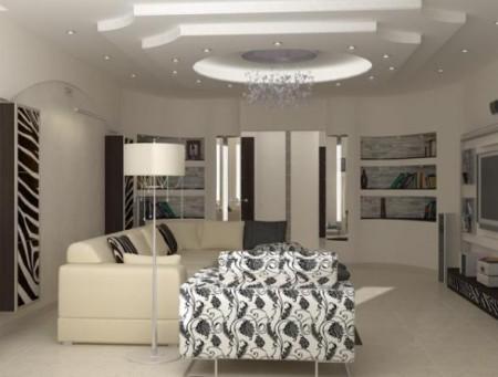 صور لغرفة المعيشة باشكال جديدة (1)