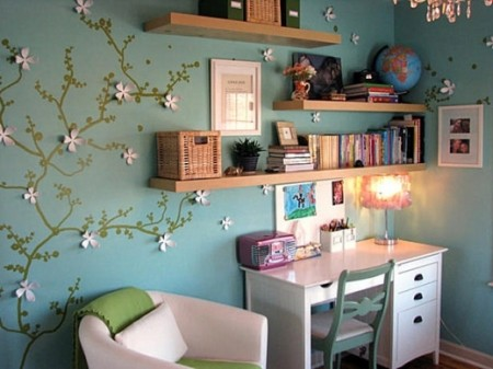 صور مكتبات مودرن للكتب في المنزل (3)