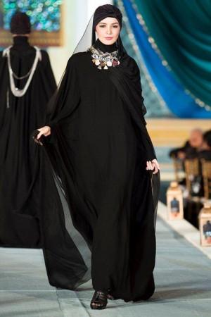 عبايات بنات محجبات خليجية 2016 (3)