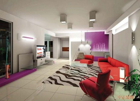 غرف للمعيشة بديكورات شيك2016 (2)