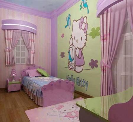 غرف نوم اطفال 2016 بديكورات جميلة (1)