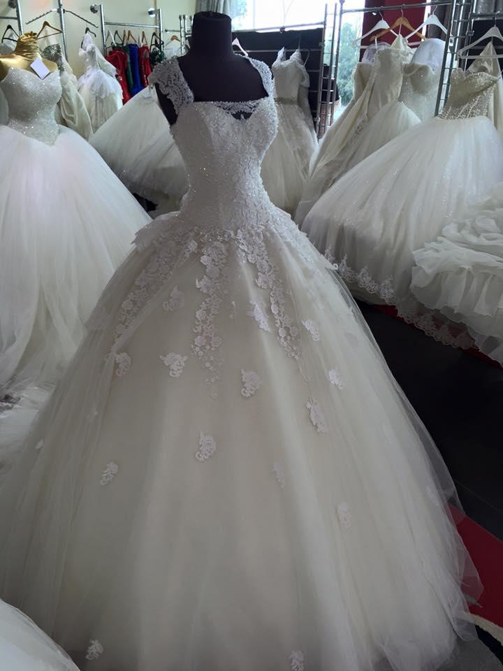 9f9cf603abfff فساتين فرح 2016 احدث موديلات فساتين الزفاف