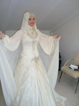 فساتين عروس محجبات2016 (3)