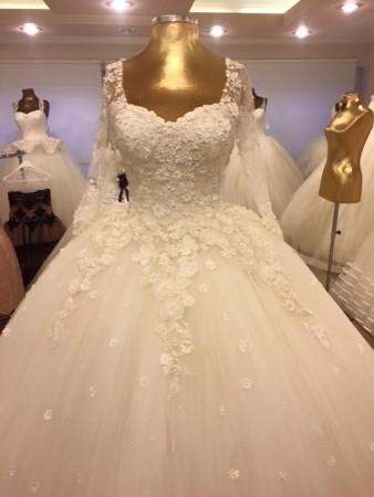 فساتين فرح 2016 احدث موديلات فساتين الزفاف (1)