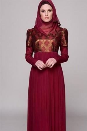 فستان سواريه للبنات المحجبات 2016 (2)