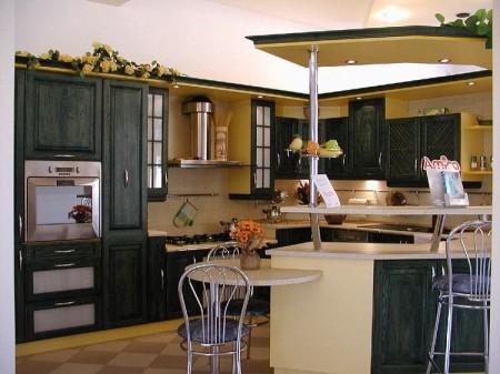 مطابخ الوميتال احدث اشكال وتصاميم مطبخ الوميتال 2016 (3)