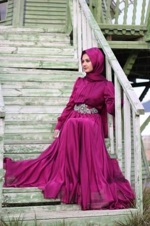 ملابس محجبات سواريه فستان (1)