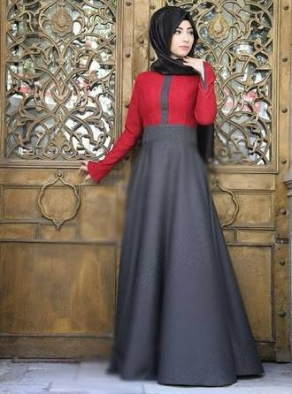 ملابس محجبات سواريه فستان (3)