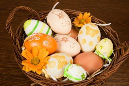 افكار لتلوين البيض لشم النسيم (3)