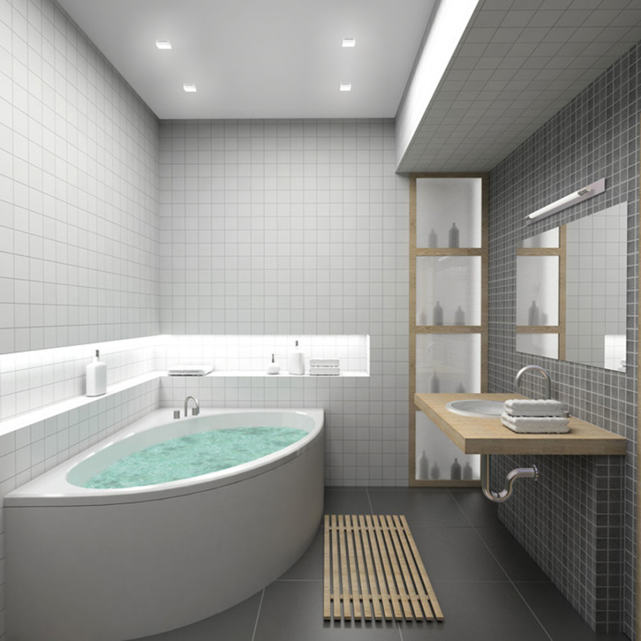 Bathroom Floor Inspiration :