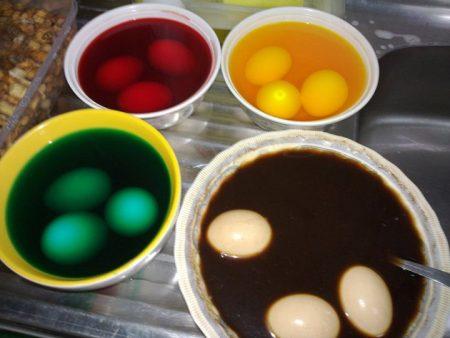 بيض بالوان جميلة (2)