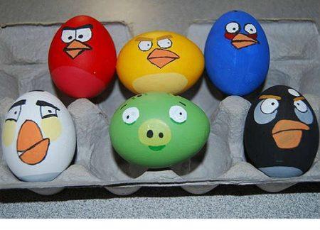 بيض بالوان جميلة (3)