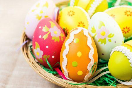 بيض شم النسيم 2016 بالوان جميلة (1)