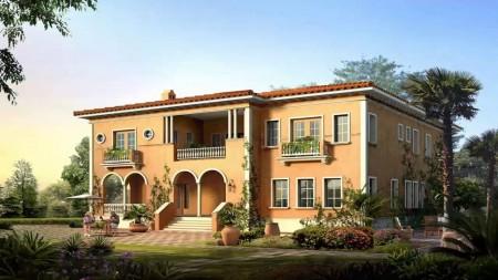 تصاميم واجهات منازل  (3)