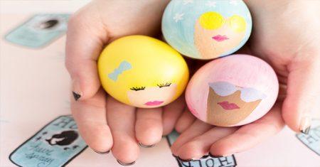 تلوين بيض شم النسيم (2)